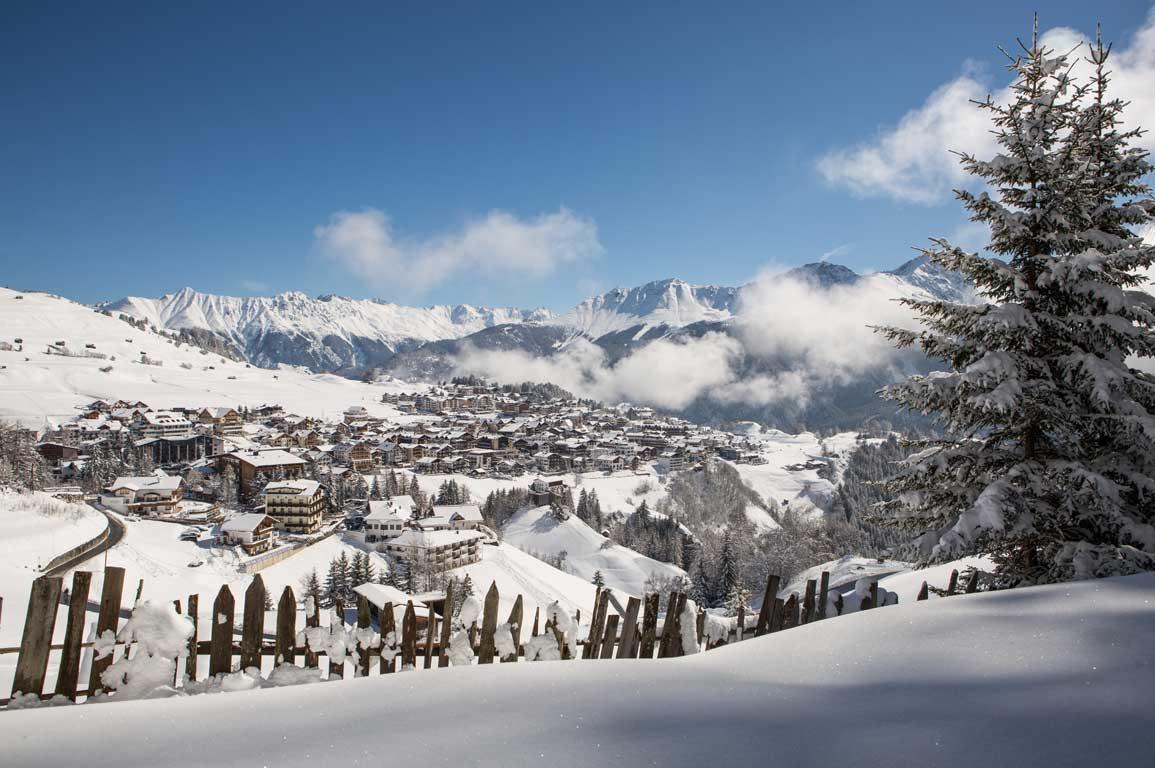 Ortsansicht-Winter-Serfuas